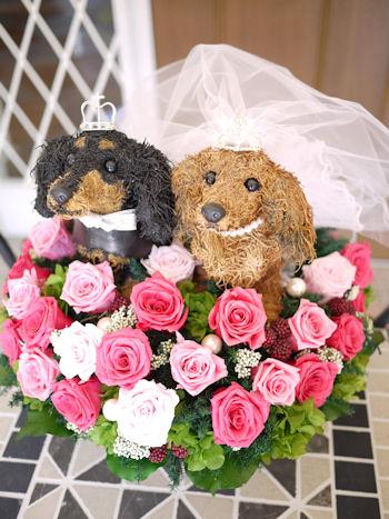犬猫動物トピアリーとフラワーギフトのアトリエ花倶楽部