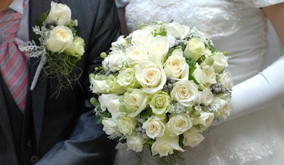 結婚式用花ブーケ