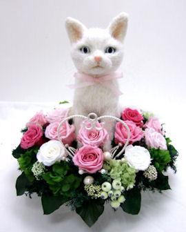 猫のjuteドールトピアリー