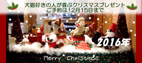愛犬家愛猫家のとくべるなクリスマスプレゼント