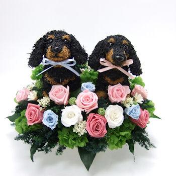 <$MTEntryTitle$>dachshund-flower