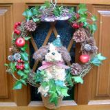 クリスマストピアリー リースM