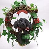 クリスマス限定トイプードルの クリスマスリースS