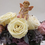 花の妖精フェアリーのbabyプリザーブドフラワーアレンジ