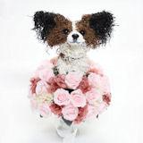 ペットがモデルのウェディングブーケ
