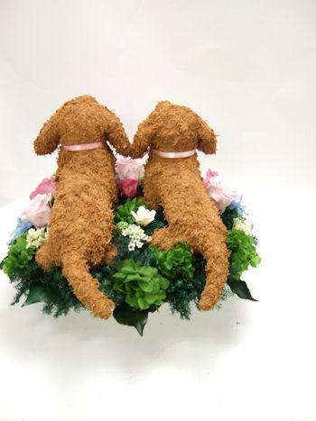 結婚式で愛犬家の両親へプレゼント ダックス