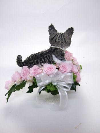 世界に1つの愛猫のウェディンブーケ