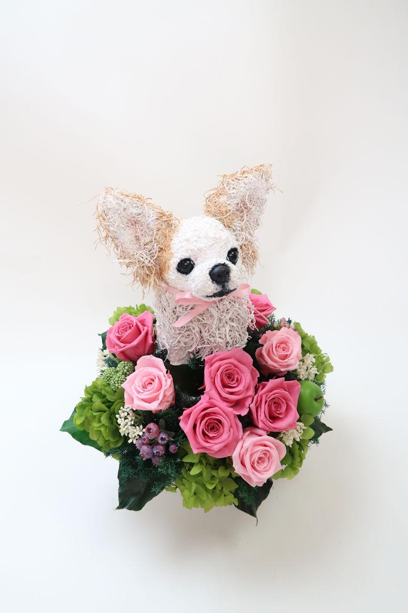 ペットのお供え花.JPG