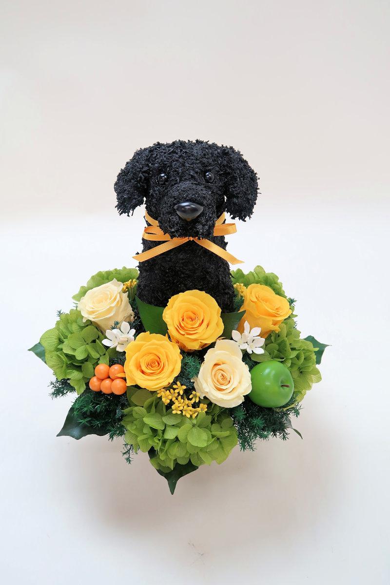 ペットのお悔やみ お供え花