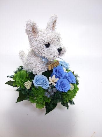フラワーギフト 犬