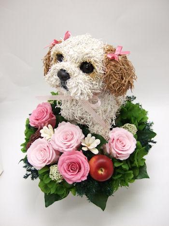 オーダーメイド犬のトピアリー