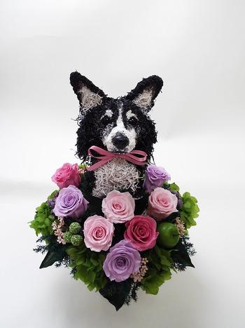 愛犬オーダーメイド トピアリー