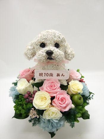 愛犬のオーダーメイドトピアリー