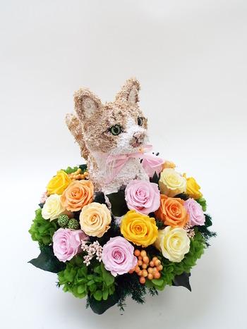 猫の一周忌 猫の形
