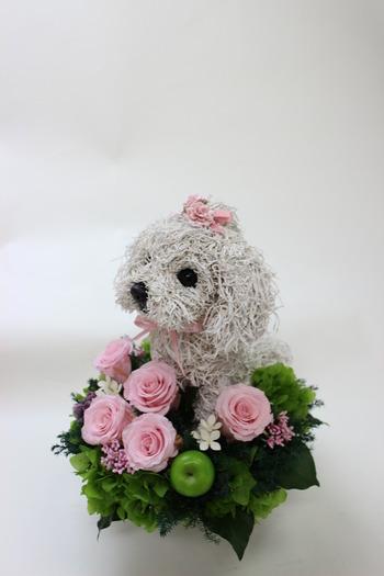 ペットのお供え花 ペットの一周忌花