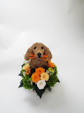 ペットのお悔やみお供え花