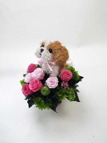 開店祝い 1周年記念花
