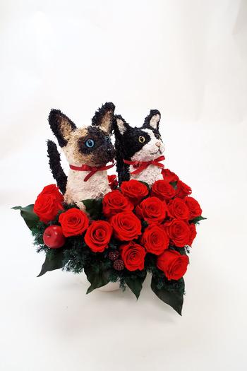 猫花 還暦祝い