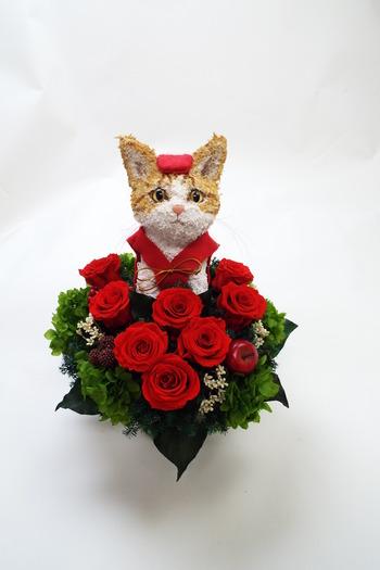 猫好き還暦祝い