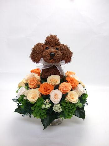 犬の飾り物