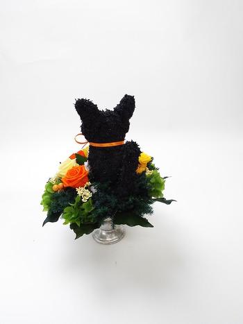 白黒猫 トピアリー