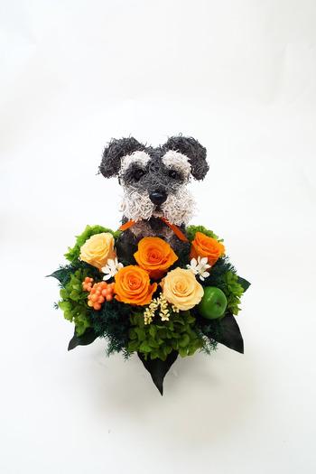 ペットのお供え花 プリザーブドフラワー