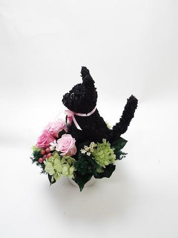 猫トピアリー