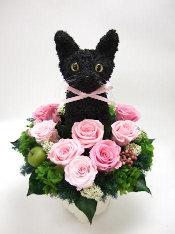 黒猫のウェルカムドール