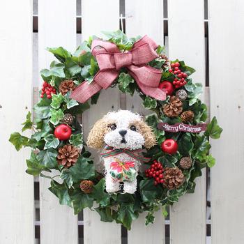 christmaswreath_dog-sizu