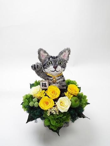 開店祝い 招き猫