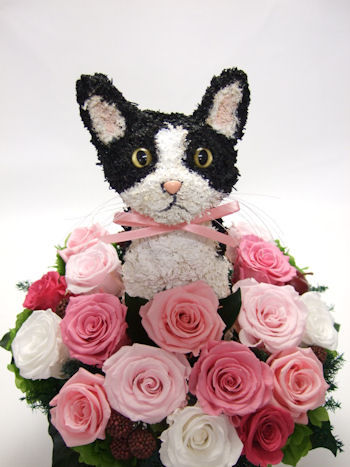結婚式両親へ贈呈花