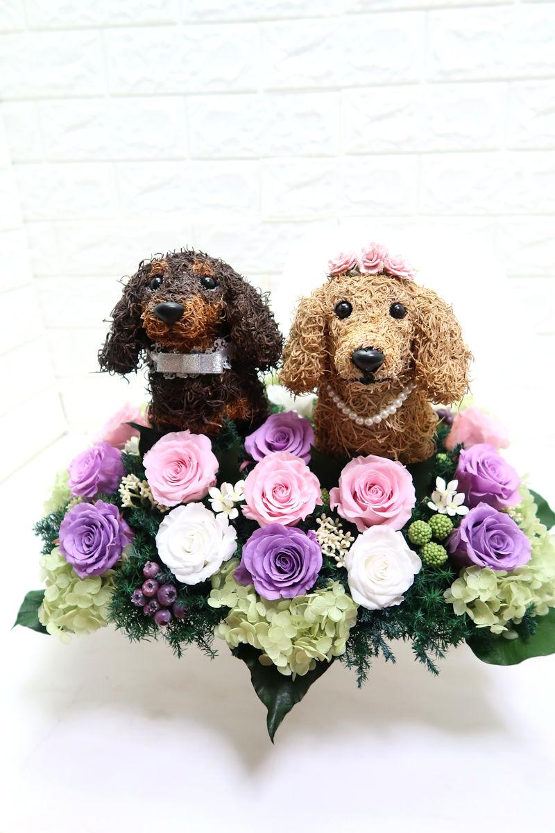 結婚式 ペット ダックス