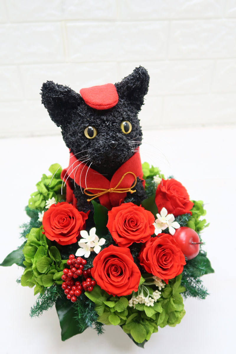 黒猫 還暦祝い