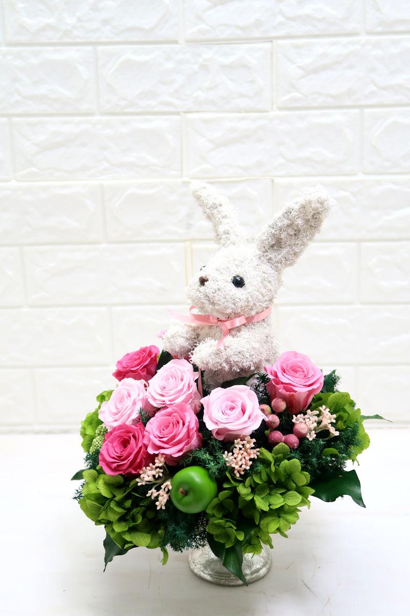 ウサギのトピアリー