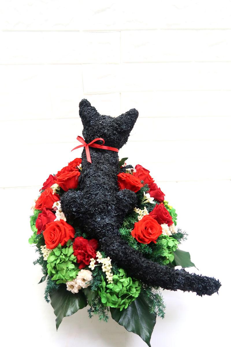 猫オーダーメイド花