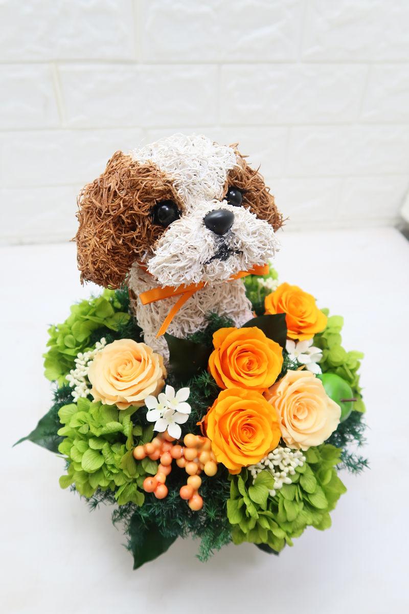 開店祝い プリザーブドフラワーアレンジ