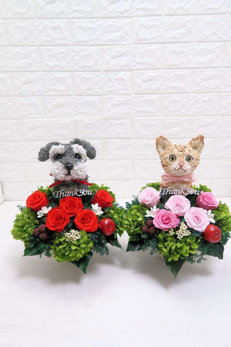 結婚式両親プレゼント 犬と猫